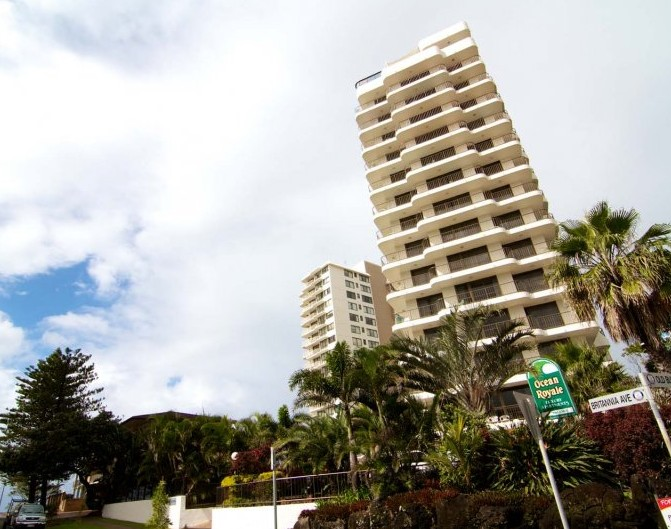 Ocean Royale Apartments - Byron Bay Accommodations