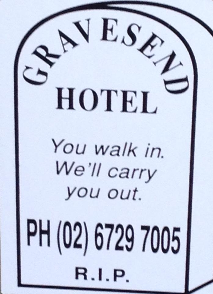 Gravesend Hotel - Byron Bay Accommodations