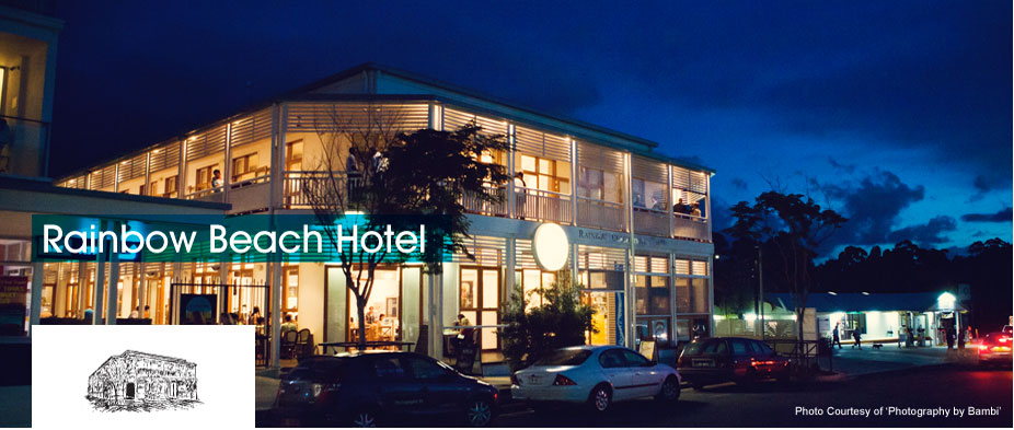 Rainbow Beach Hotel - Byron Bay Accommodations