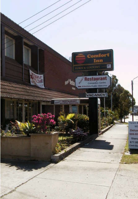 Town  Country Motel - Byron Bay Accommodations
