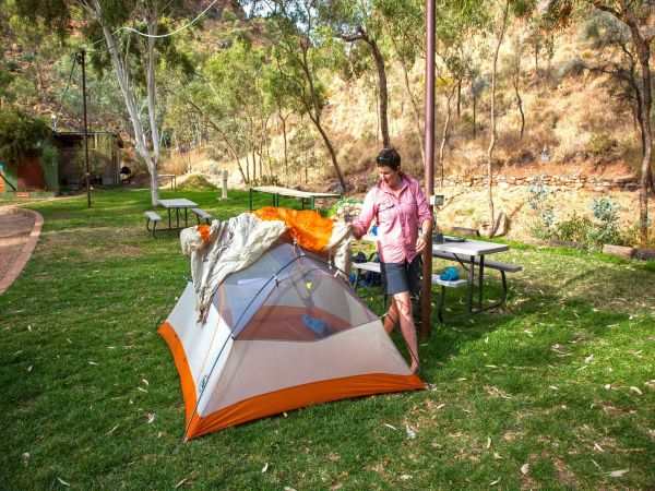 Standley Chasm Angkerle Camping - Byron Bay Accommodations