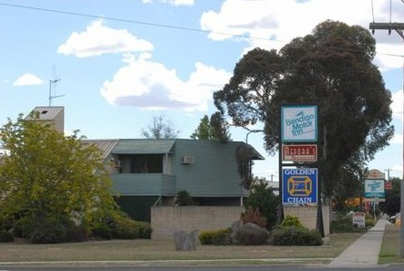 Bendigo Motor Inn Golden Chain - Byron Bay Accommodations