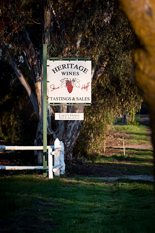 Heritage Wines - Byron Bay Accommodations