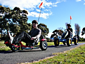 Pedal Buggies Tasmania - Byron Bay Accommodations
