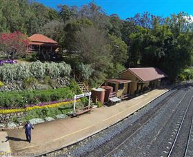 Spring Bluff Railway Station - Byron Bay Accommodations