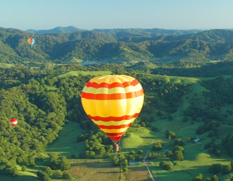 Byron Bay Ballooning - Byron Bay Accommodations
