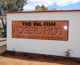Big Fish Fossil Hut at Peak Hill - Byron Bay Accommodations