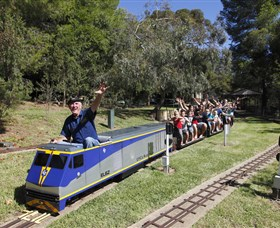 Willans Hill Miniature Railway - Byron Bay Accommodations