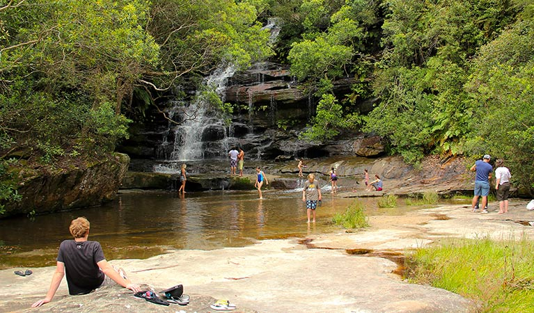 Somersby Falls picnic area - Byron Bay Accommodations
