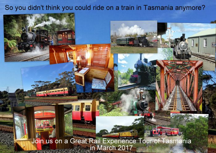 Great Rail Experiences  Tasmania Tour 2017 - Byron Bay Accommodations