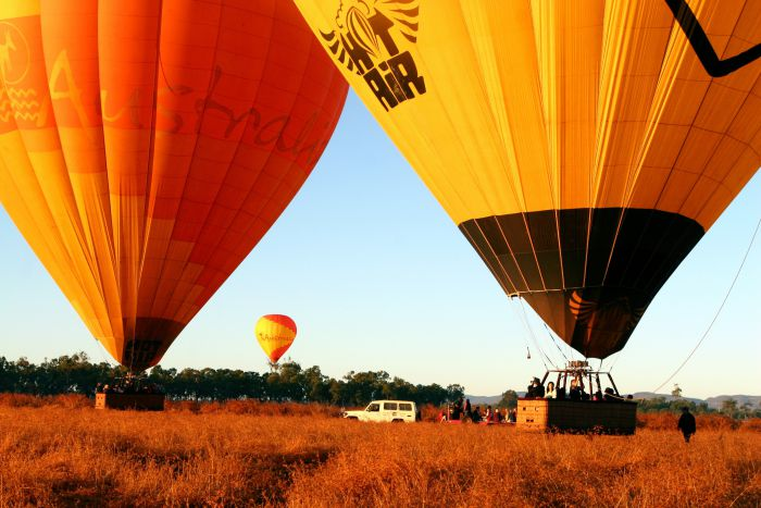 Hot Air Balloon Scenic Rim - Byron Bay Accommodations