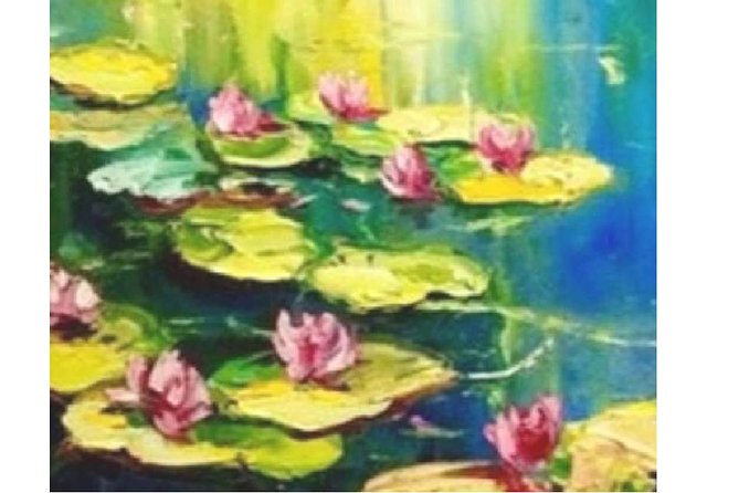 Monet Water Lillies - Statesman Hotel 7.00-9.00pm