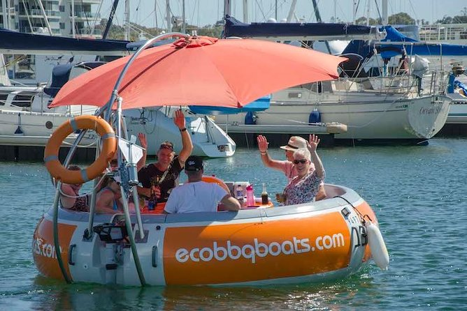 Self-Drive BBQ Boat Hire Mandurah - Group of 7 - 10 people - Byron Bay Accommodations