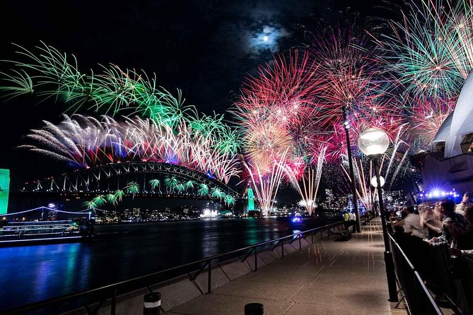 New Year's Eve under the Sydney Opera House Sails on Sydney Harbour - Byron Bay Accommodations