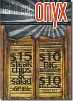 Onyx Restaurant Tapas  Cocktail Bar