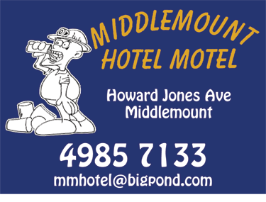 Middlemount Hotel Motel Accommodation - Byron Bay Accommodations