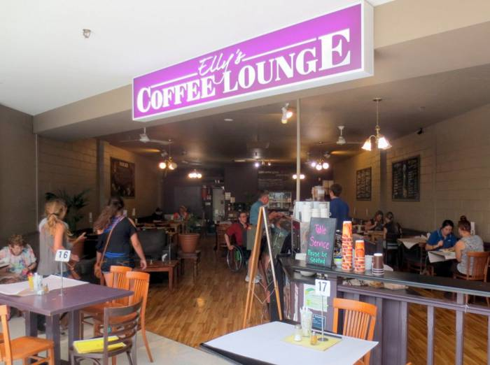 Ellys Coffee Lounge - Byron Bay Accommodations