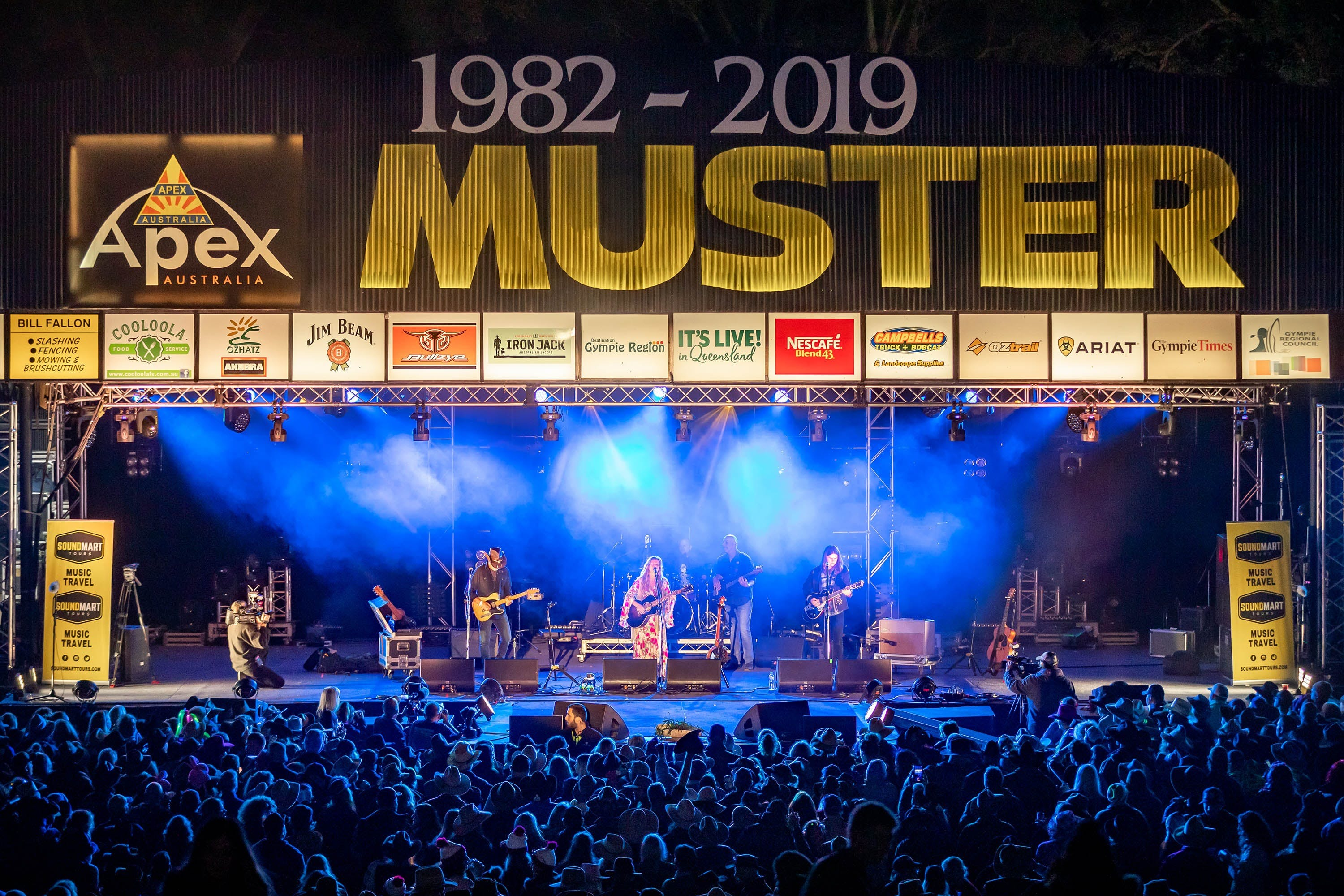 Gympie Music Muster - Byron Bay Accommodations