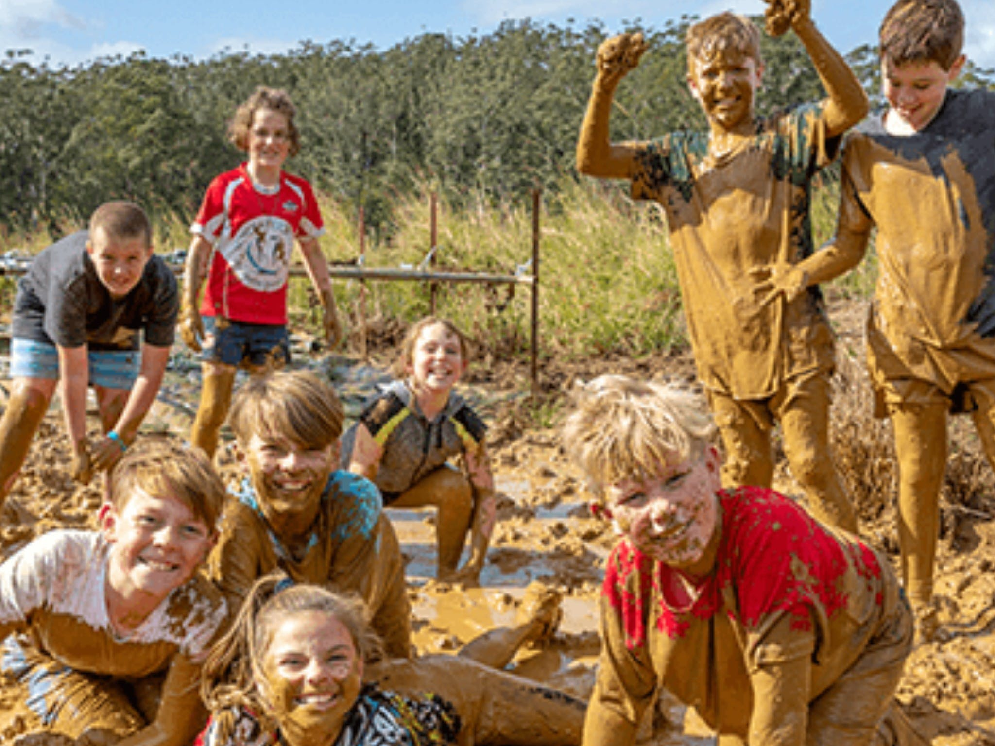 Mini Muddies Obstacle Challenge at Bunnamagoo Estate - Byron Bay Accommodations