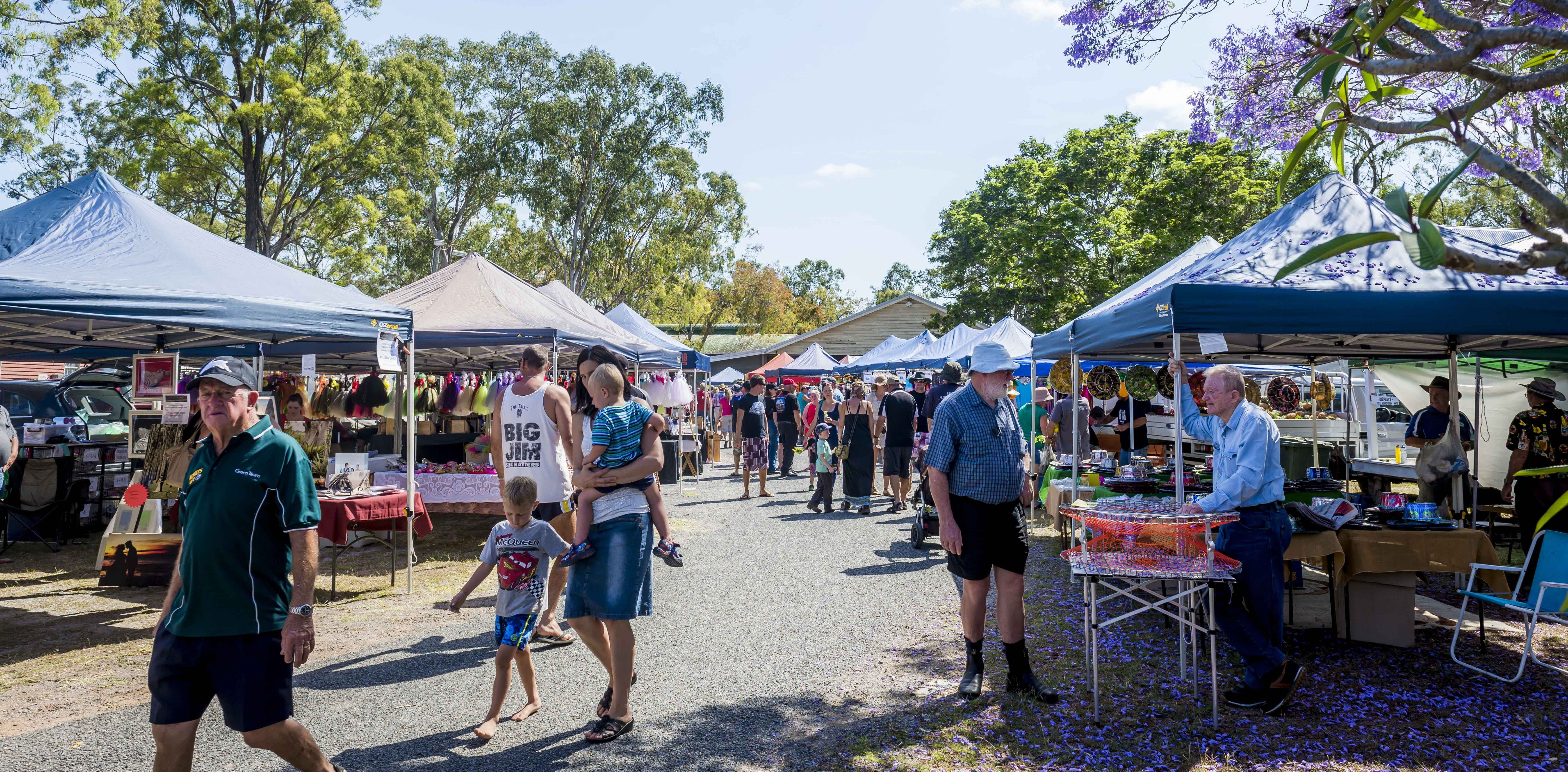Calliope Historical Village Markets - Byron Bay Accommodations