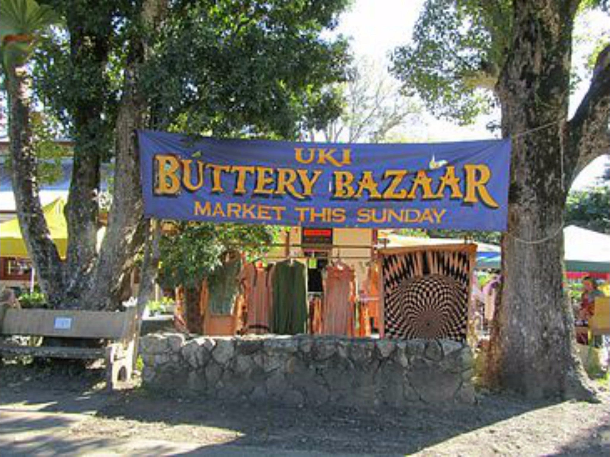 Uki Buttery Bazaar - Byron Bay Accommodations